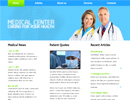 Medical Center html5 - Free templates