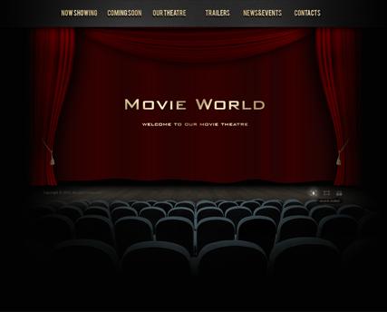 Movie theme powerpoint template toneelgroepblik Images