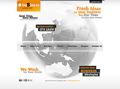 Joomla theme, business