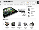 OS23130007 Gadget Store - osCommerce, ECOMMERCE FLASH website templates