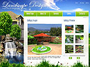 Landscape design - Flash template, Full Flash flash templates