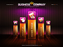 Business co. - Flash template, Full Flash flash templates