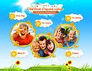 Children Organization - Easy flash templates, Children  website templates