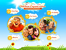 Children Organization - Easy flash templates, EASY FLASH website templates