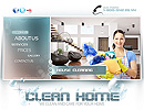 Clean home - Easy flash templates, EASY FLASH website templates