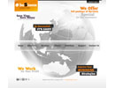 Business Corporate HTML - HTML template, frontpage flash templates