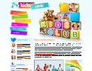Kids Club - HTML5, SPECIAL flash templates