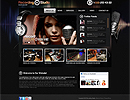 Studio Records Html5 - HTML5 template, SPECIAL best flash site design