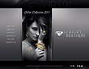 Jewelry Boutique - Easy flash templates, FULL FLASH website templates