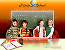 Private School - Easy flash templates, Children flash templates