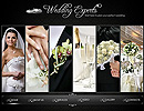 Wedding Experts - Photo/Video XML flash template, WEDDING FLASH website templates